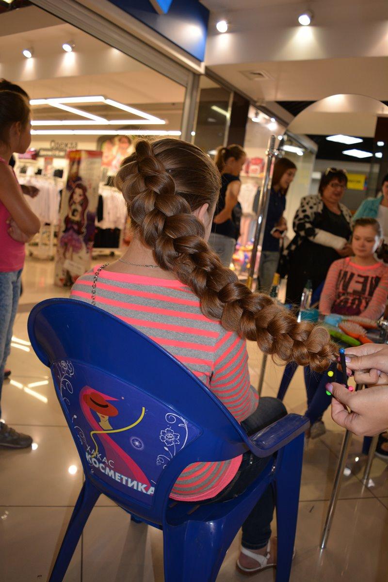 Плетения кос торговый центр